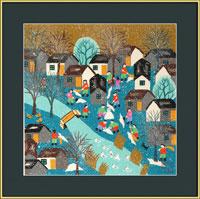 winter folk art